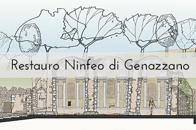 Restauro Ninfeo di Genazzano