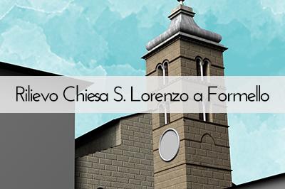 Rilievo Chiesa S. Lorenzo a Formello